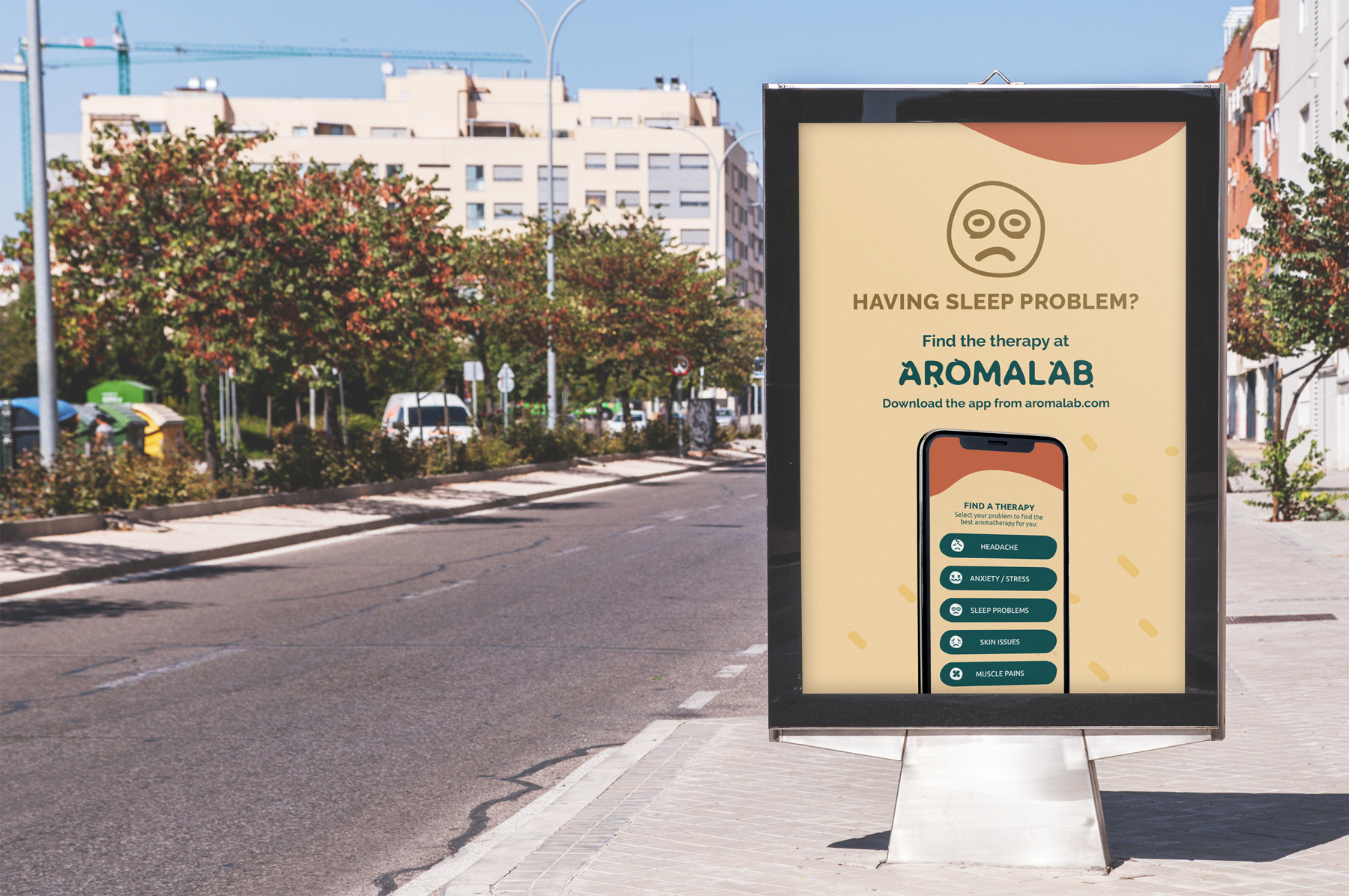 Aromalab Outdoor Advertising