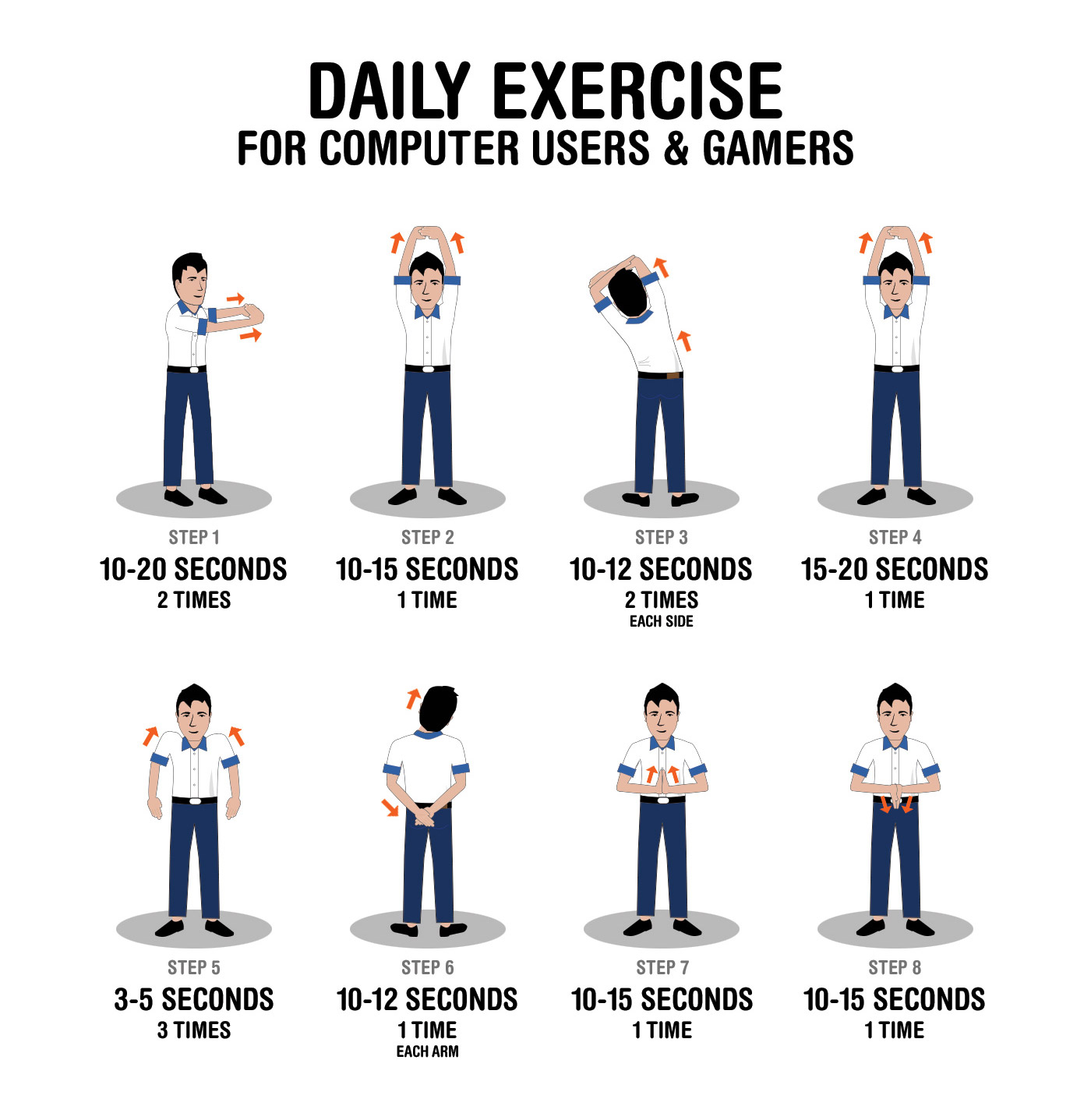 Daily Exercise Tips