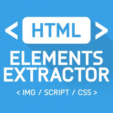 HTML Elements Extractor